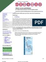 Petro Euros Versus Petro Dollars