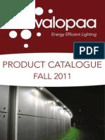 LED Street Light Catalogue_FALL2011_v2.0s