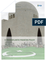 A Transatlantic Pakistan Policy
