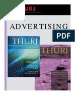 THURJ Advertising Packet 2009-2010