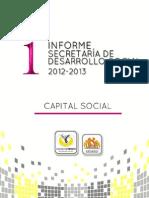 INFORME SEDESO 2013
