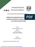 Análisis de la composición de los ciliados en la interfase termoclina oxiclina en lagos cráter de la Cuenca Oriental, Puebla