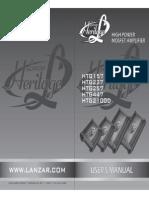 Lanzar Htg157 User Manual