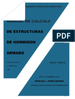 Manual de Calculo de Estructuras de HA - Pozzi Azzaro