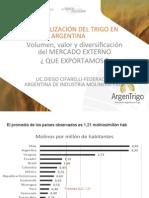 Jornada ArgenTrigo 2014. Industrialización del trigo en Argentina. Presentación