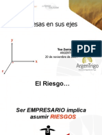 Jornada ArgenTrigo 2014. Panel de Sustentabilidad