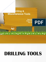 Drilling & Miscellaneous Tools