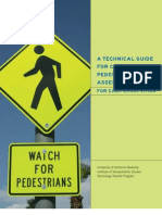 cal_office of transportation safety_a technical guide for conducting pedestrian safety assessments for california cities_psa_handbook
