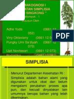 Simplisia Amylum Manihot