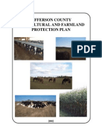 Jefferson County Agricultural Farmland and Protection Plan