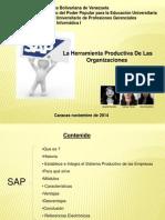 Exposición   SAP La Herramienta Productiva De Las  Organizaciones