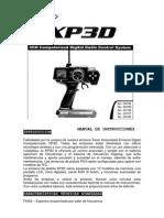Instrucciones Emisora Xp3d