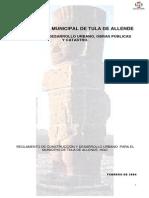 Reglamento de Construcción de Tula Hidalgo