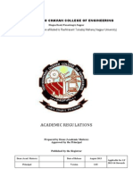 Acadamic Regulations