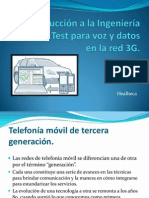 Introducción a la ingeniería Drive Test 3G