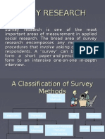 Survey Research Bba
