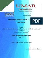 5.4. La Situación Del Mercado y Las Principales Tendencias Actuales Del Transporte