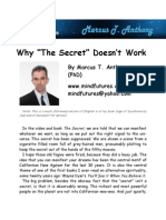 Why the Secret Doesn't Work
