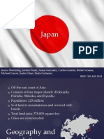 japan group project power point