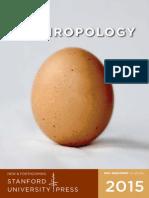 2015 Anthropology Catalog