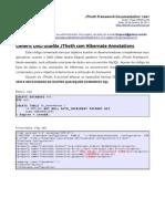 Generic DAO Usando JThoth Com Hibernate Annotations