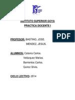 1. Instituto Superior Goya
