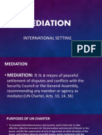 Mediation With Dispute Report