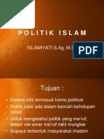 p o l i t i k Islam
