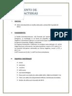 Aisalamiento de Enterobacterias
