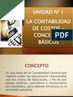La Contabilidad de Costos.- Conceptos Básicos