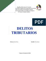 delito tributario de venezuela