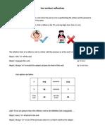 los verbos reflexivos  - riedel