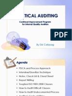 Practical Auditing Rev. 0