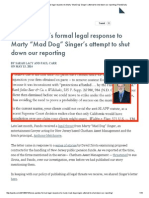 """Here's Pando's Formal Legal Response to Marty """"Mad Dog"""" Singer's Attempt to Shut Down Our Reporting _ PandoDaily"""