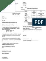 Surat Kelas Tambahan 2014