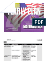 YEARLY Plan Maths f4