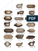 Catalogue PGM CONTENT[1] of Catalytic Converters