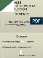 Cemento - CAPITULO v - 23 09 14 - Cachay