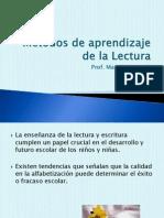 8° PPT Métodos de lectura