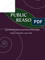 Public Reason - Volume 1, Number 2, June 2009