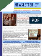 "Newsletter ""Pentru Voi"" December 2009"