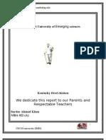 Kfc Four Ps Sardar Ahmad Swati semester 2