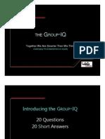 3.MLM 0874 Presentation TheGroup^IQ 21FAQ PP