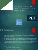 Radiación; Teratogénesis y periodo fetal