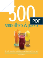 500 Smoothies Juices Illustrated[Orion Me