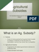 ag subsidiespresentation