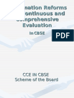 Cbse Evaluation