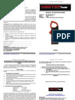 Manual Medidor Gancho DT266