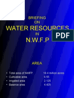 Water Resources in N.W.F.P Pukhtunkhwa