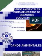 Daños Ambientales Como Generador de Desastres Naturales